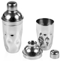 Hammered Effect Stainless Steel Cocktail Shaker [918342]