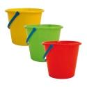 18cm Plain Beach Bucket [177][17703] Any Colour
