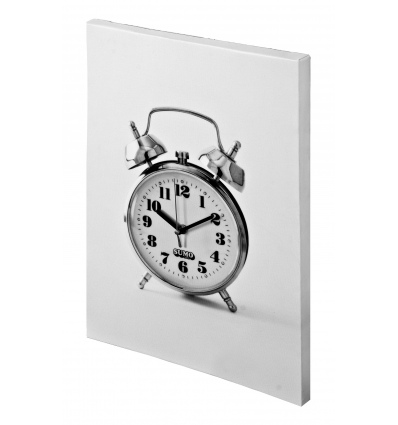 Alarm Clock Canvas Clock [741003]