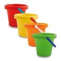 22cm Plain Beach Bucket [51][10308] Any Colour