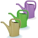4 Litre Rattan Design Watering Can
