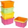 Set of 4 coloured Storage Boxes  [337696]