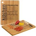Bamboo Cutting Board with Print [094286]
