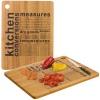 Cutting Board with Bamboo Print [094286]