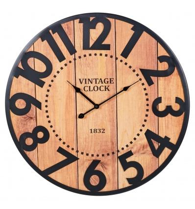 Wall Clock 60cm Metal numbers (097201)