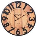 Wall Clock 60cm Metal numbers [097201]