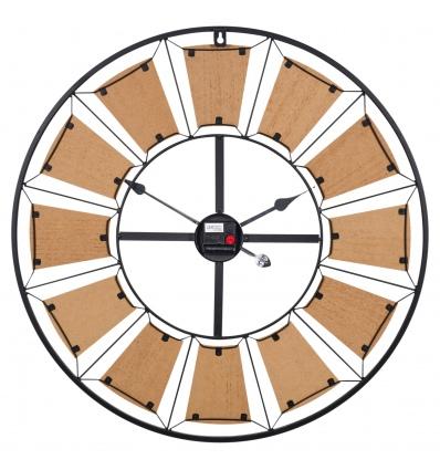 Wall Clock Metal 70cm (913996)