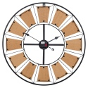 Wall Clock Metal 70cm [913996]