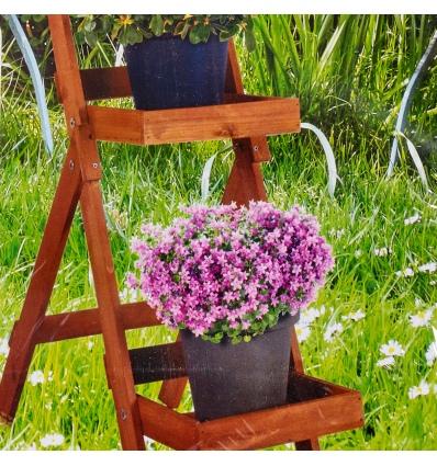 2 Step Flower Pot Shelf 26x42x72cm [136493]