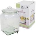 5.6L Square Beverage Dispensers Glass (850550)