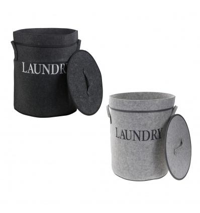 Round Felt Laundry Baskets [104343]