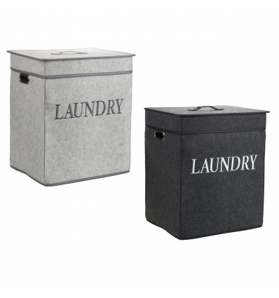 Square Felt Laundry Baskets [104268]