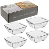 Bowl Tempered Glass Set Of 4 (814972)