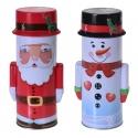 Round Christmas Tinbox [250831]