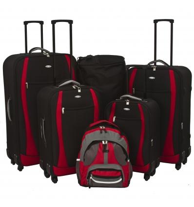 f1fd36ce0 6 Travelight EVA 4 Wheel Spinner Suitcase Set