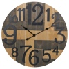 72cm Wall Clock MDF With Metal [269189]