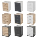 3 Drawer Bedroom Bedside Cabinet