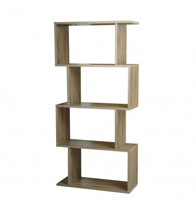 S-Shaped Bookcase