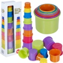 Stack Up cups 9pcs 8x4x37.5cm [006017]