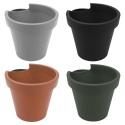 Plastic Drainpipe Flower Pots