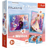 """Puzzles - """"2in1 + memos"""" - A mysterious land / Disney Frozen 2 [90814]"""