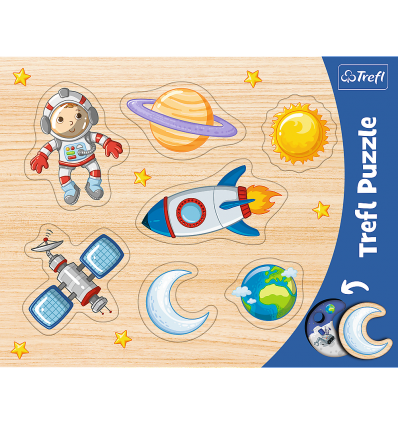 """Puzzles - """"Frame Shaped Puzzles""""- Space / Trefl [31310]"""
