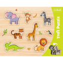 Puzzles - Frame Shaped Puzzles - Exotic animals / Trefl [31308]