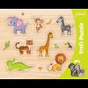 "Puzzles - ""Frame Shaped Puzzles"" - Exotic animals / Trefl [31308]"