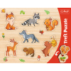 """Puzzles - """"Frame Shaped Puzzles"""" - Forest / Trefl [31307]"""