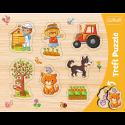 Puzzles - Frame Shaped Puzzles - Village / Trefl [31306]