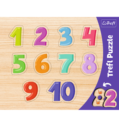 """Puzzles - """"Frame Shaped Puzzles"""" - Numbers / Trefl [31304]"""