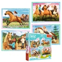Puzzles - 4in1 - Afternoon ride / Universal Spirit Riding Free [34334]