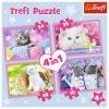 """Puzzles - """"4in1"""" - Cat's fun [34330]"""