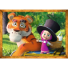 """Puzzles - """"4in1"""" - Masha's forest adventures / Animaccord Masha and the Bear [34329]"""