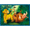 """Puzzles - """"4in1"""" - The Lion King and friends / Disney The King Lion [34317]"""