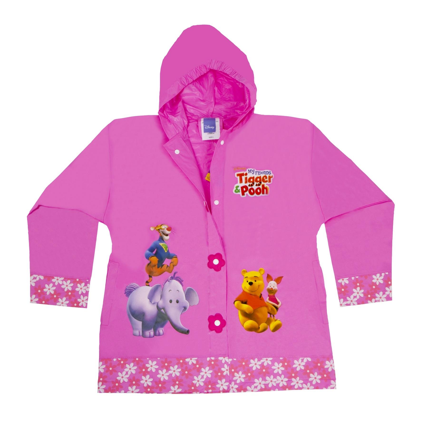 Winnie The Pooh Rain: Girls PVC Disney Winnie The Pooh Rain Summer Waterproof
