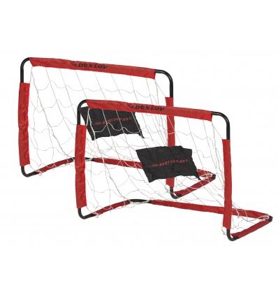 Dunlop Footbal Goals With Red Frame [020219]