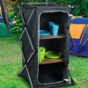 Folding Camping Storage Cabinet [160481]