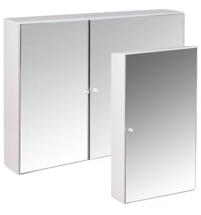 Croydex Kaya White Bathroom Cabinets