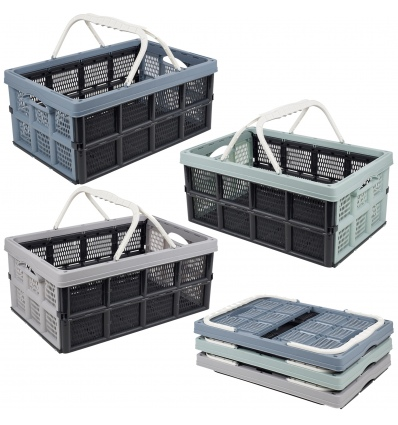 Foldable Crates with Grips