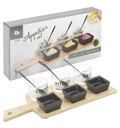 10 PCS Appetiser Serving Set [587948]