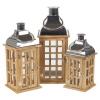 Brown & Silver Lanterns