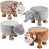 Wooden Animal Footstools [099533]