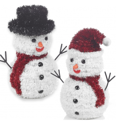 Tinsel 3D Snowman 6 AS [649110]