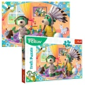 "Puzzles - ""24 Maxi"" - Let's have fun together! / Studio Trefl Rodzina Treflikow [14319]"