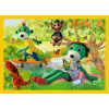 """Puzzles - """"4in1"""" - Trefliks have fun together [34337]"""