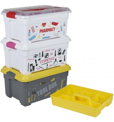 Storage Boxes 38x26x18.5cm