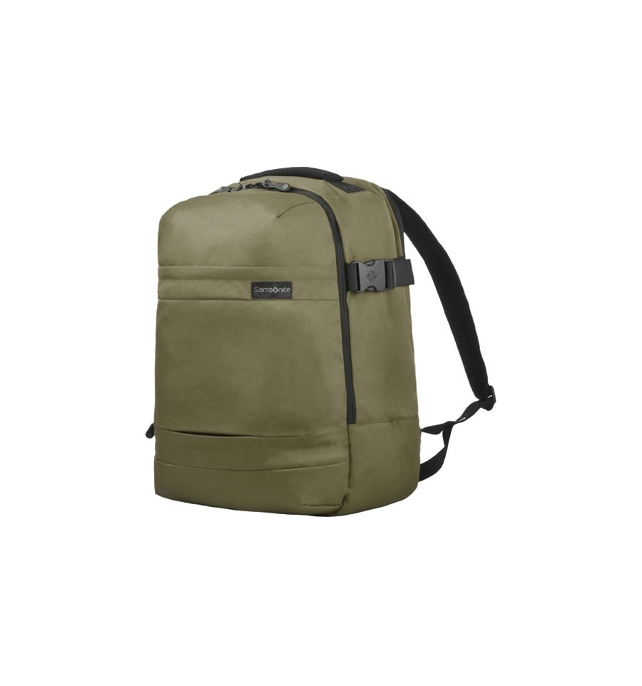 samsonite 17 3 laptop backpack rucksack khaki. Black Bedroom Furniture Sets. Home Design Ideas
