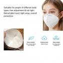 5 x KN95 Protective Face Masks [432581]