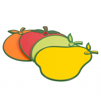 Plastic Cutting Board with Fruit Themes [407673]